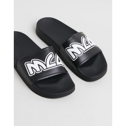 Chrissie Slides - Women's Black by Mcq By Alexander Mcqueen