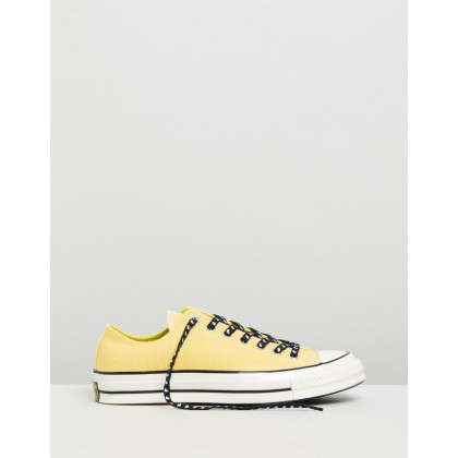 Chuck 70 Psy-Kicks - Women's Butter Yellow, Fresh Yellow & Egret by Converse