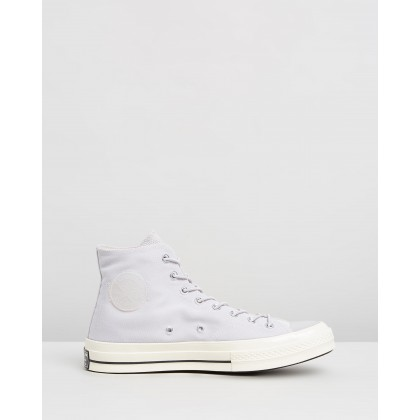 Chuck 70 Space Racer Hi Pale Putty, Black & White by Converse