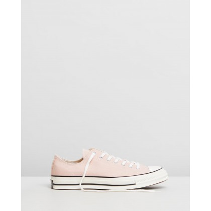 Chuck Taylor All Star 70 Ox - Unisex ???Particle Beige, Black & Egret by Converse