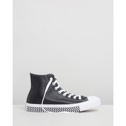 Chuck Taylor All Star Mission-V High Top Sneakers Black & White by Converse