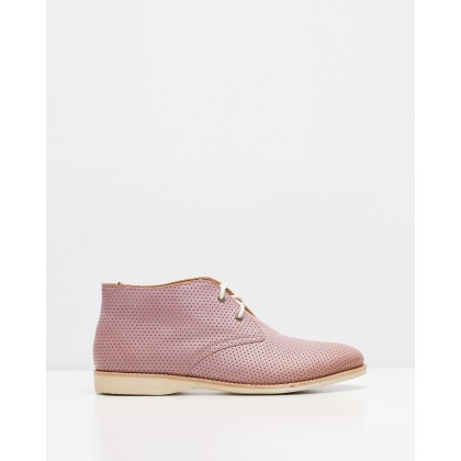 Chukka Boots Pin Punch Blush by Rollie