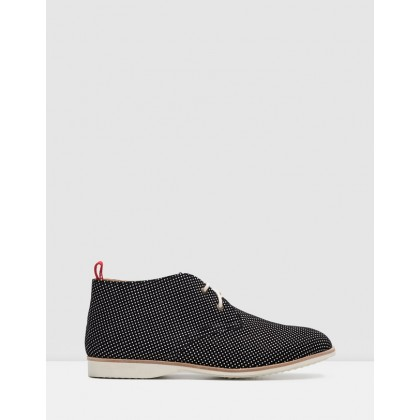 Chukka Boots Black Dream by Rollie