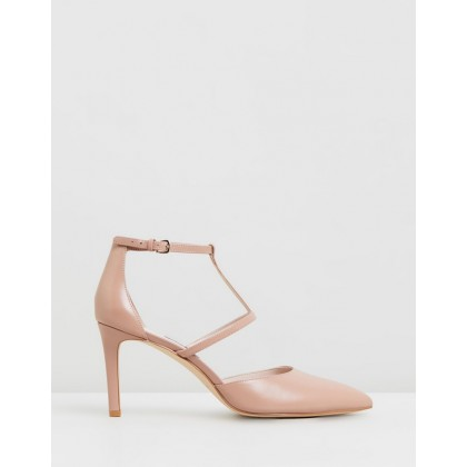 Cintia Medium Pink Leather by Nine West