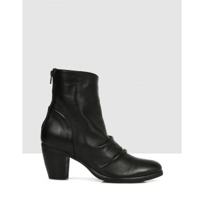 Cinzia Ankle Boots NERO by S By Sempre Di