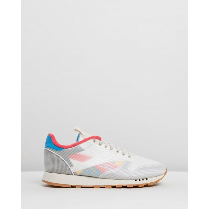 CL Leather - Unisex Alabaster, Cyan, Hype Pink, Toxic Yellow & Shadow by Reebok