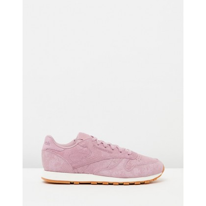 CL Leather - Women's Infused Lilac & Chalk by Reebok