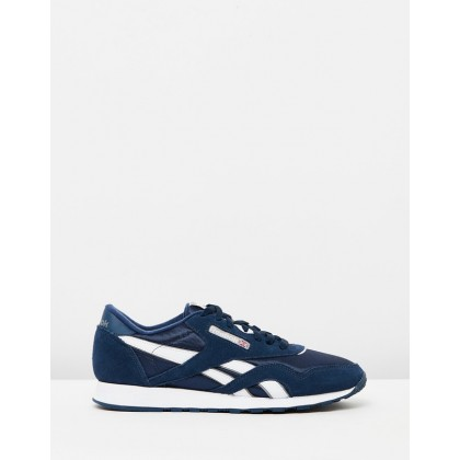 CL Nylon - Unisex Team Navy & Platinum by Reebok