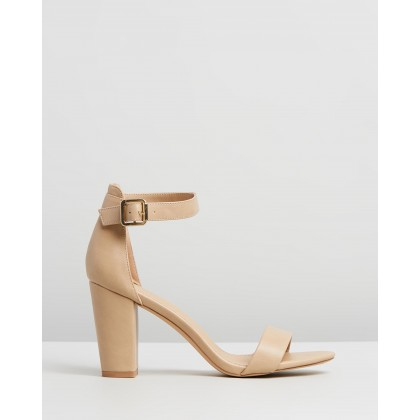 Clare Heels Nude Smooth by Spurr