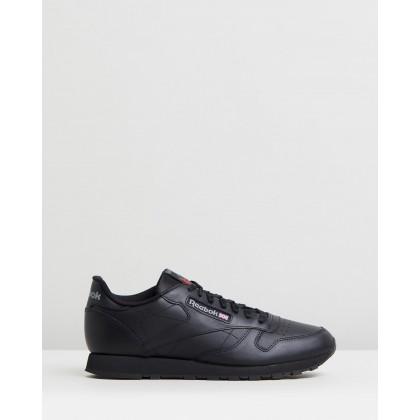 Classic Leather - Unisex Black by Reebok