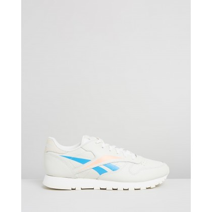 Classic Leather - Women's Chalk, Classic White & Sunglo by Reebok