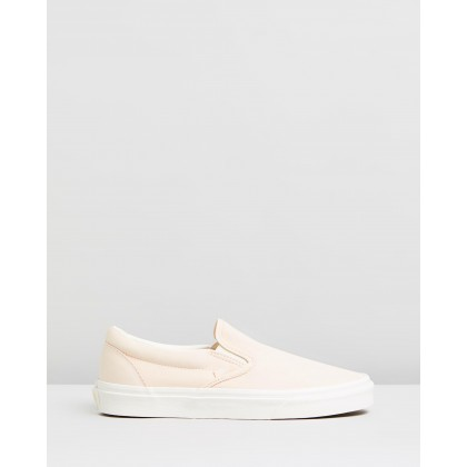 Classic Slip-On - Women's Vanilla Cream & Snow White by Vans
