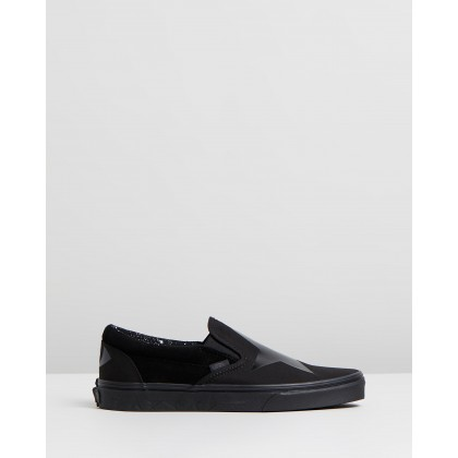 Classic Slip-On x Bowie - Unisex Blackstar & Black by Vans