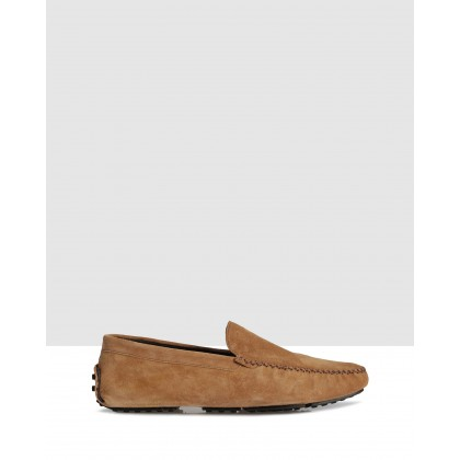 Coast Driving Shoes Camel 2016 by Brando