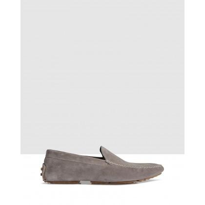 Coast Driving Shoes Light Grey by Brando