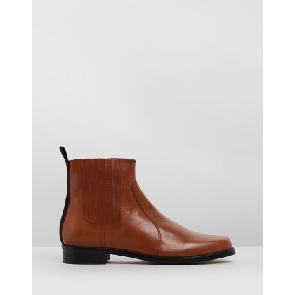 Cobain Chelsea Boots Brown by Joseph