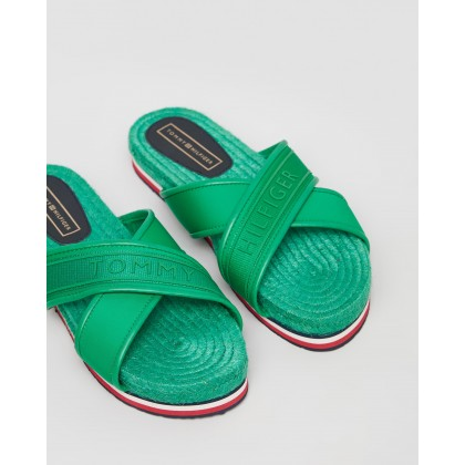 Colourful Flat Sandals - Women's Jelly Bean by Tommy Hilfiger