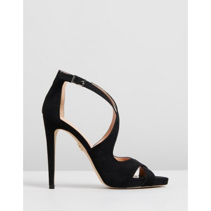 Concealed Platform Heels Black by Lipsy