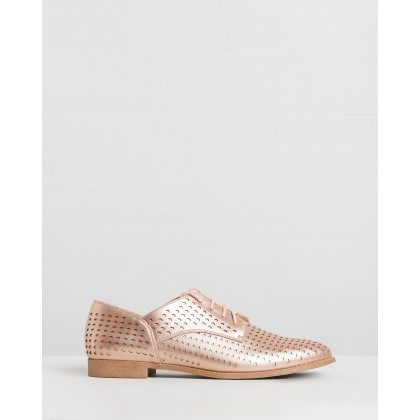 Connie Flats Rose Gold by Spurr
