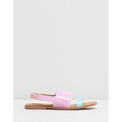 Contrast Lizard Flats Orchid by Jaggar The Label