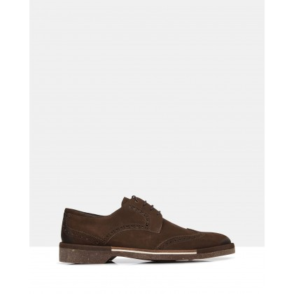 Corvin Lace Ups Brown by Brando