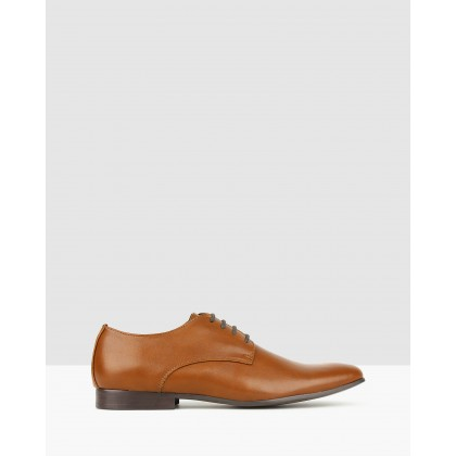 Count Derby Dress Shoes Whiskey by Betts