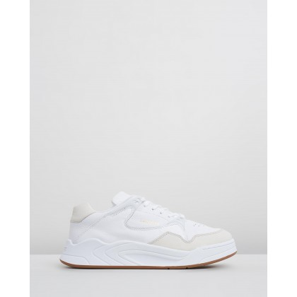 Court Slam White & Gum by Lacoste