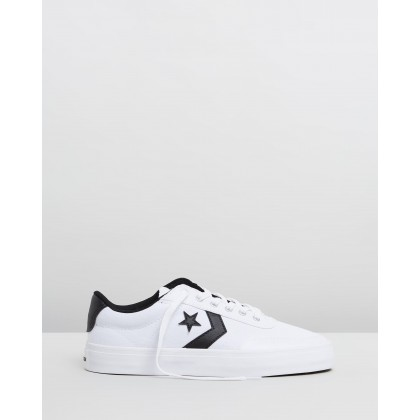 Courtlandt - Unisex White & Black by Converse
