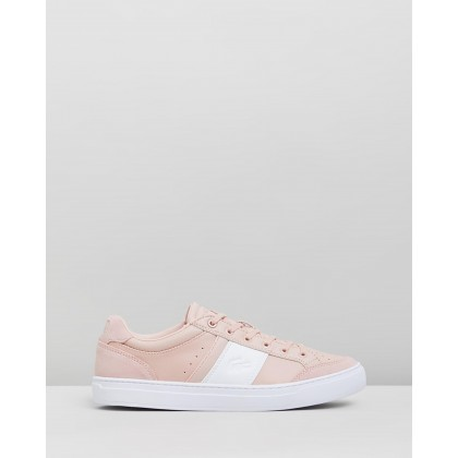 Courtline 319 1 Sneakers - Women's Natural & White by Lacoste