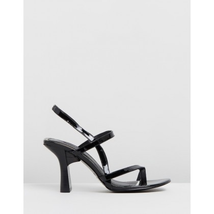 Covet Sandals Black by Jaggar The Label