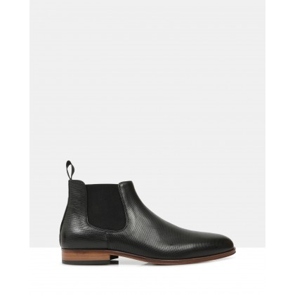 Crawford Ankle Boots Black by Brando