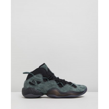 Crazy BYW III - Unisex Core Black & Legend Ivy by Adidas Originals