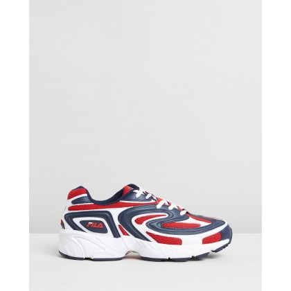 Creator - Men's White, Fila Navy & Fila Red by Fila