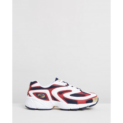 Creator - Women's Black Iris, White & Rhubarb by Fila