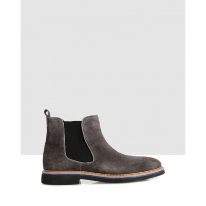 Crowe Ankle Boots Grey by Brando