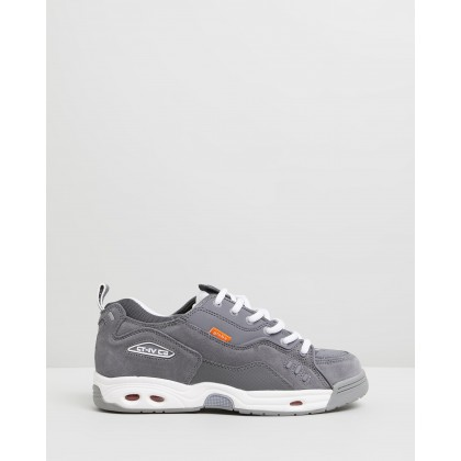 CT-IV Classic - Unisex Grey, White & Orange by Globe