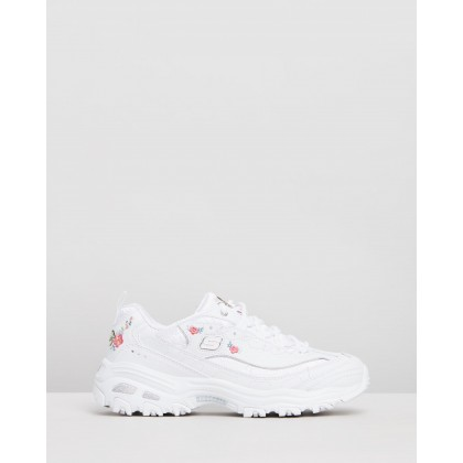 D'Lites - Bright Blossoms - Women's White by Skechers