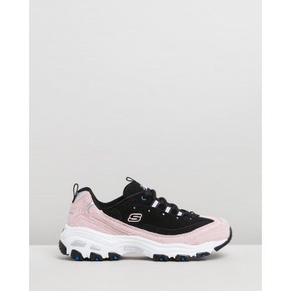 D'Lites - Women's Black & Pink by Skechers