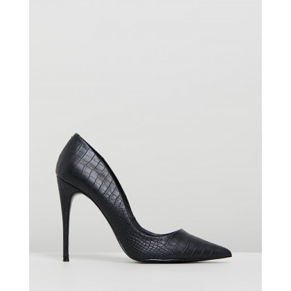 Daisie Black Croco by Steve Madden