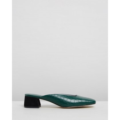 Daisy Mules Emerald Green by Mara & Mine