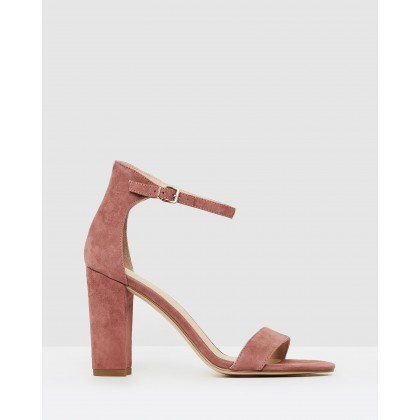 Dakota Rosewood Suede by Nude
