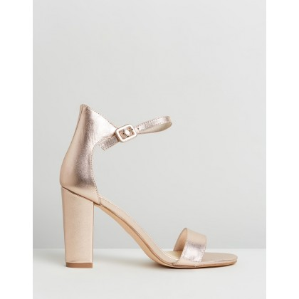 Dakota Rose Gold Leather by Nude