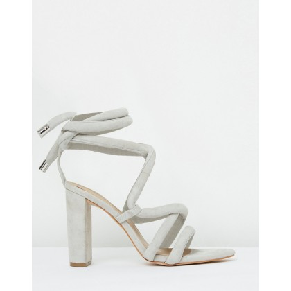 Dakota Sandal Oyster Suede by Mode Collective
