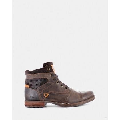 Dalby Boots Dark Brown by Wild Rhino