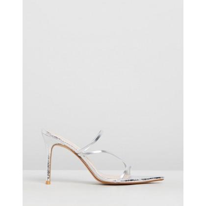 Dalia Sandals Silver by M.N.G
