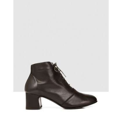 Dallas Ankle Boots Caffe by S By Sempre Di
