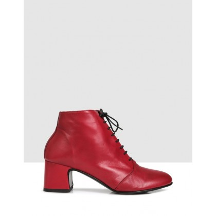Dallas Ankle Boots TOMATO by S By Sempre Di