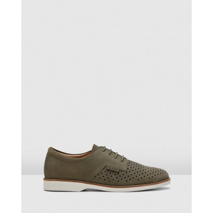 Danae Sage Nubuck by Hush Puppies