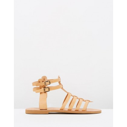 Danae Sandals Tan by Ammos