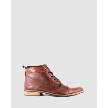 Davenport Rust Leather by Wild Rhino